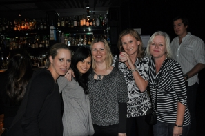 Kim Formato, Michelle Riel, Fiona Fahey (Impact Events), Anna Speakman & Carol Mills (Travel Counsellors)