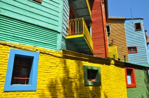The most picturesque La Boca
