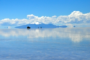 Spectacular natural landscape of Salar de Uyuni