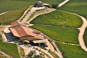 The stunning Vina Santa Cruz – Santa Cruz Winery