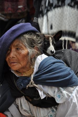 Otavalo Town, Ecuador