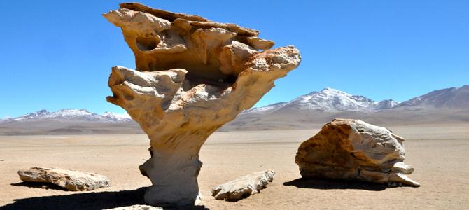 Arbol de Piedro, Bolivia